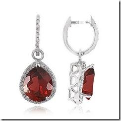 garnet-dangle-earrings