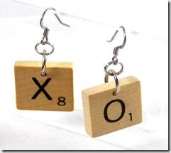 Scrabble-Earrings
