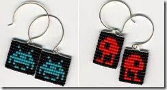 space_invaders_earrings