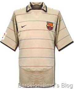 2002-2003 fc barcelona away