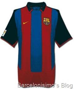 2003-2004 fc barcelona home