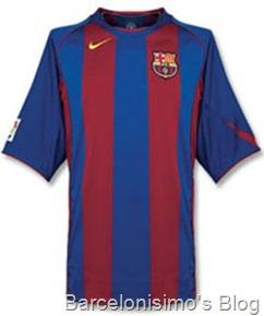 2004-2005 fc barcelona home