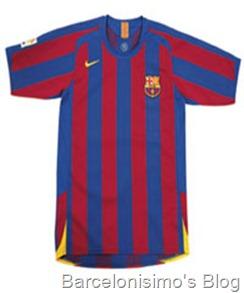 2005-2006 fc barcelona home