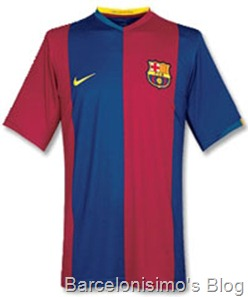 2006-2007 fc barcelona home