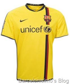 2008-2009 fc barcelona away