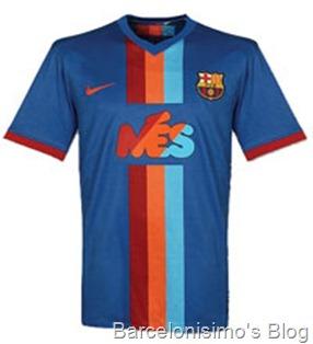 2009-2010 fc barcelona gamper
