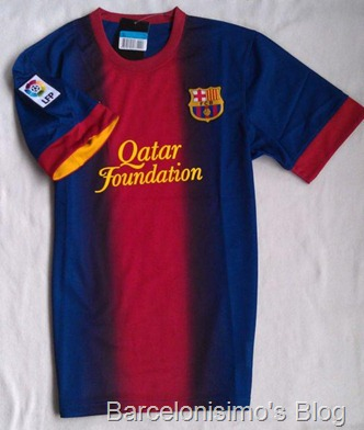 2012-13 FC Barcelona Home